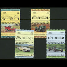 ST VINCENT Grenadines. 1985 Cars. SG 378-385. Mint Never Hinged. (AX107)