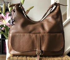 Gorgeous Genuine Radley Leather Grosvenor Shoulder Bag Hobo Tan Brown