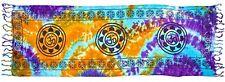 """Long Lotus Om Altar Cloth 22 x 68"""" Wiccan Pagan Altar SCV156"""