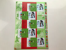 France 2002 good sheet soccer world cup, perfect CV $15 Y&T BF#49
