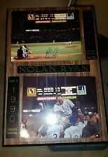 NOLAN RYAN SIGNED AUTOGRAPHED 6th NO HITTER LIMITED NUMBER PLAQUE GORGEOUS!!!