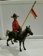 Vintage CANADIAN MOUNTIE Royal Mounted Police Plastic Toy / Figurine