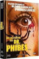 Mediabook Die Rückkehr Des Dr.Phibes Vincent Price Cover B Limited Blu-Ray DVD