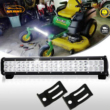20Inch Led Light Bar Flood Spot Beam Offroad Fog Lamp John Deere Lawn Mower