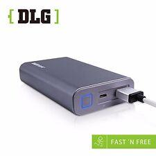 DLG 10050mAh Premium Aluminum Qualcomm Quick Charge 2.0 QC2.0 Power Bank