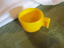 Fisher Price Fun with Food tea pot yellow cup set party hot beverage part toy