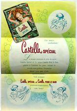 Publicité papier CASTELLA SAVON DE BEAUTE 1954  P1029817