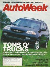 AUTOWEEK 2000 OCT 09 - ACURA MDX, BMW X5 LM, BILL COUCH '34 FORD 3-WINDOW ROD