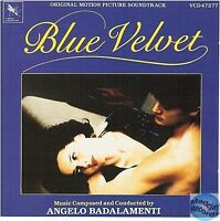 CD BLUE VELVET original soundtrack ANGELO BADALAMENTI VCD47277