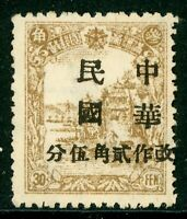 China 1946 Manchukuo Local Overprint Mint G624 ⭐⭐⭐⭐⭐