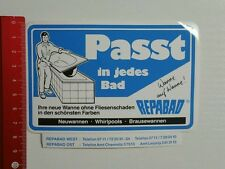 Aufkleber/Sticker: Repabad - Passt in jedes Bad (050416199)