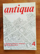 Rivista d'archeologia Antiqua n.4 marzo 1977