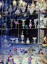 1960s Italy Venice Hand Blown Art Glass Shop By Alfred Eisenstaedt Vintage Photo