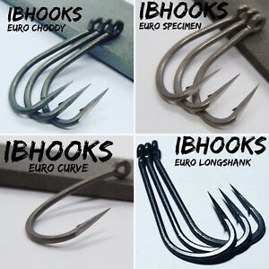 Hand Sharpened Carp Hooks  CURVE WIDEGAPES CHODDY CLAW CRANK, IBHOOKS Fishing