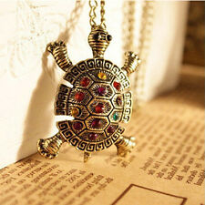 Nice Lovely Bohemia Turtle Tortoise Pendant Necklace Popular Jewelry Long Chain