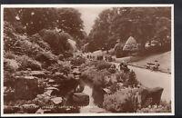 Yorkshire Postcard - The Rockery, Valley Gardens, Harrogate  RS4006
