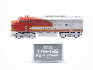 N Scale Kato 176-189 ATSF Santa Fe EMD F3A Diesel Locomotive No#