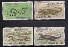 Laos  1967  Sc #156-59  Reptiles  MNH  (1-341)