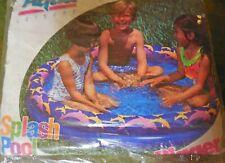 New listing New Kids Splash Pool Aqua Leisure 35 Gallons 4+ Years
