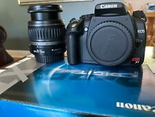 CANON EOS DIGITAL REBEL XT BLACK EF-S 18-55 KIT