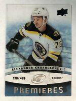 2014-15 UD Ice Premieres Rookie Alexander Khokhlachev /499