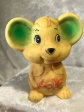 Vintage Rubber Love Mouse Figurine