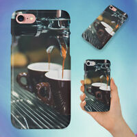 COFFEE CUP HARD BACK CASE FOR APPLE IPHONE PHONE