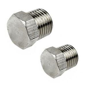 "Hex Blanking Plug 1/4"" / 3/8"" Port Air Line Compressor Fitting"
