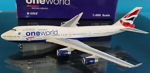 Phoenix 1:400 Boeing 747-400 British Airways G-CIVZ Ref: PH04349