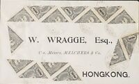 Macau Portugal 1910 Bisect Cover To Hong Kong