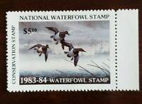 National Waterfowl Stamp Conservation Stamp 1983-84 Waterfowl Stamp