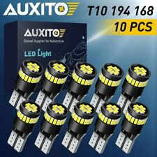 10X 24chips 168 194 T10 2825 Interior License 6000K Wedge LED Light Bulbs Canbus