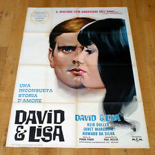 DAVID E LISA manifesto poster affiche Keir Dullea Janet Margolin Lukas Haas G9