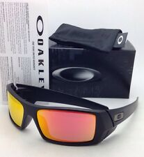 New OAKLEY Sunglasses GASCAN 26-246 60-15 Matte Black Frame w/ Ruby Iridium Lens