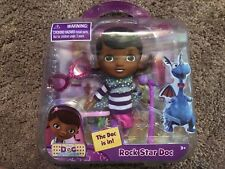 "NIB Disney Doc Mcstuffins ""Rock Star Doc"" Mini Doll Set FREE SHIPPING"