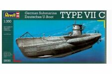 Revell 05093 1/350 German Submarine Deutsches U-Boot Type VIIC