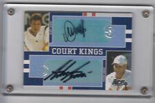 Andre Agassi / Marat Safin - 2005 Ace Authentic Tennis Dual Auto Signed /50
