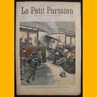 LE PETIT PARISIEN Supplément littéraire illustré Gare de Lyon 16 mars 1902