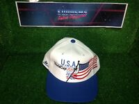 Vtg 90s World Cup USA 1994 Soccer Football New SnapBack Apex Cap Film Prop