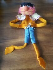 """1978 ANIMAL muppets muppet show HAND PUPPET 22"""" doll - FISHER PRICE JIM HENSON"""
