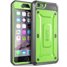 iPhone 6 6s Case SUPCASE Unicorn Beetle Rugged Holster Cover Black UK SELLER