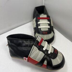 Stride Rite Surprize Toddler Pre-Walker 6-12 Months Boys Slip On Shoes Black