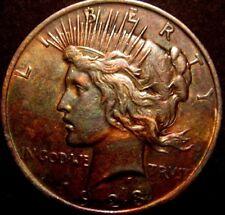 1923 PEACE DOLLAR TONED # 18-71-188