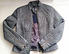 Tru Trussardi Damen Lederjacke - Damen Jacke Größe 38 - NEU