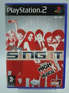 PS2 Singt It High School Musica All 3Jeu PLAYSTATION 2 Completo Retrogaming
