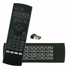 Warm Color Backlight 2.4G Wireless Air Fly Mouse Remote For TV PC