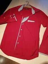 Merish Herren Hemd rot S/M