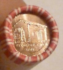 2009D Log Cabin Lincoln Cent Uncirculated Original Penny Sealed Roll N.F. String