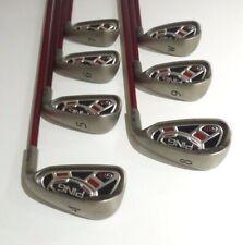 PING G15 Green-Dot Irons (4-P) Reg Flex graphite - Mint Cond, Free Post # 2917