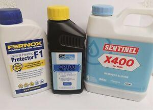 Fernox / Sentinel / Calmag Central Heating Inhibitor Cleaner Leak Sealer